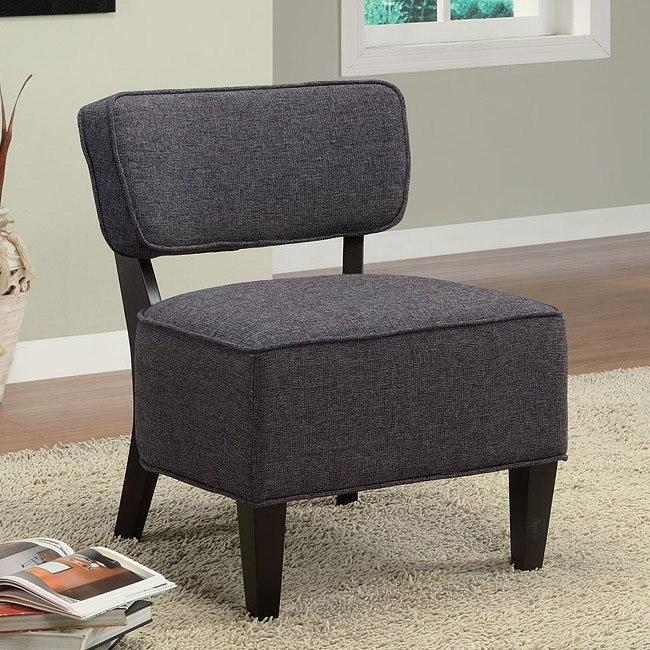 Linen Textured Accent Chair