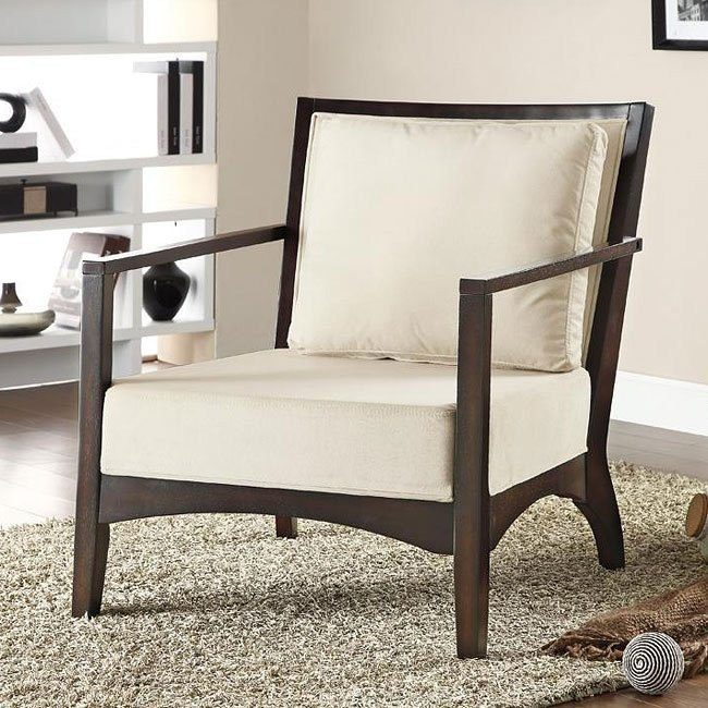 Accent Chair w/ Wood Back