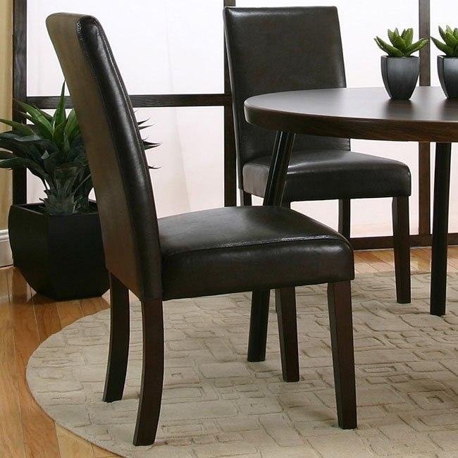 Kemper Parson's Chair (Cordovan) (Set of 2)