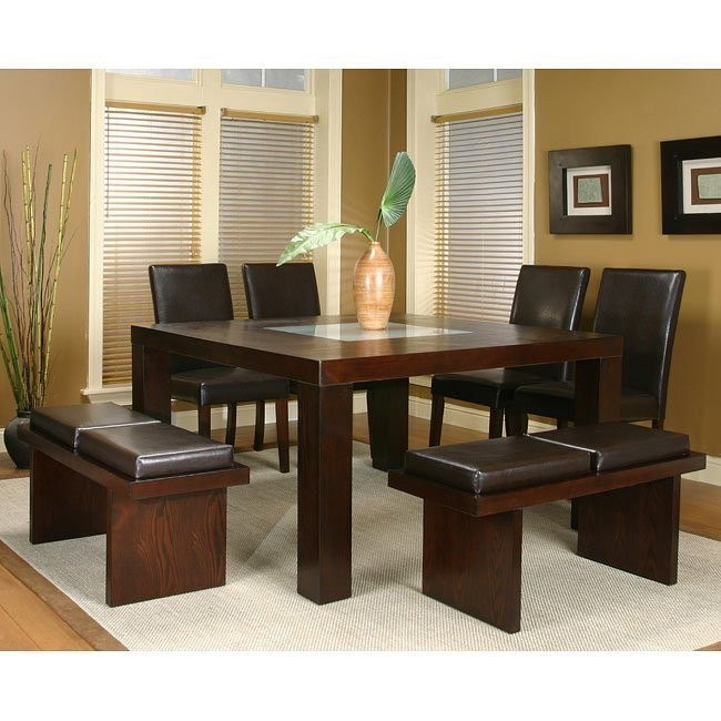 new arrival d93ae 00d4a Kemper Square Dining Room Set (Cordovan)