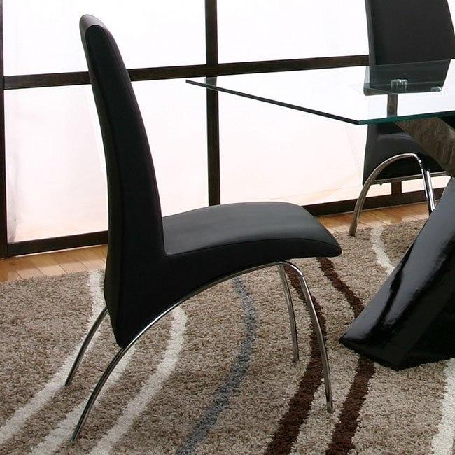 Mensa Black Side Chair (Set of 4)