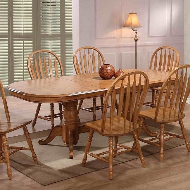 Missouri Rectangular Dining Table (Rustic Oak)