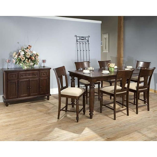 San Antonio Counter Height Dining Room Set