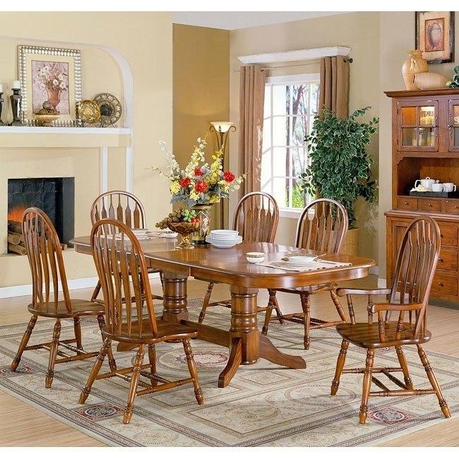 Chestnut Dining Room Set
