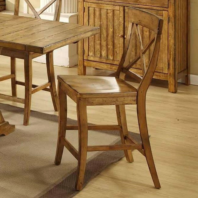 Santa Fe Counter Height Chair (Set of 2)
