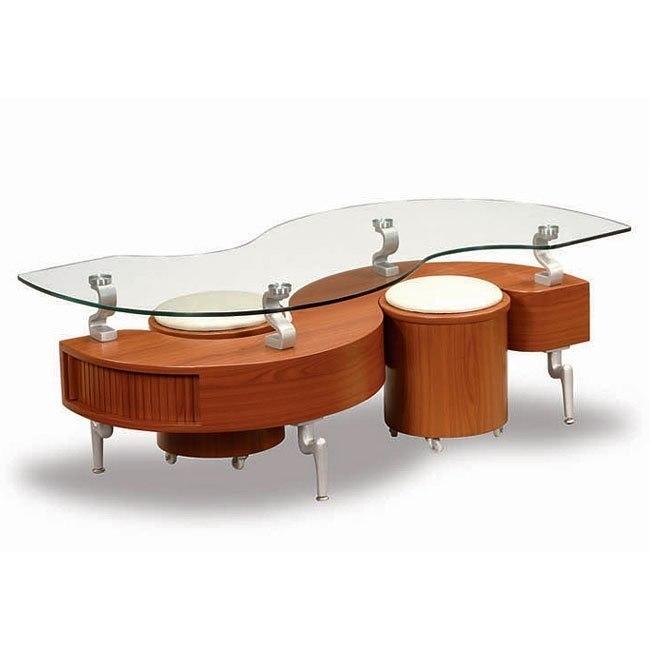 Cherry Coffee Table Global Furniture