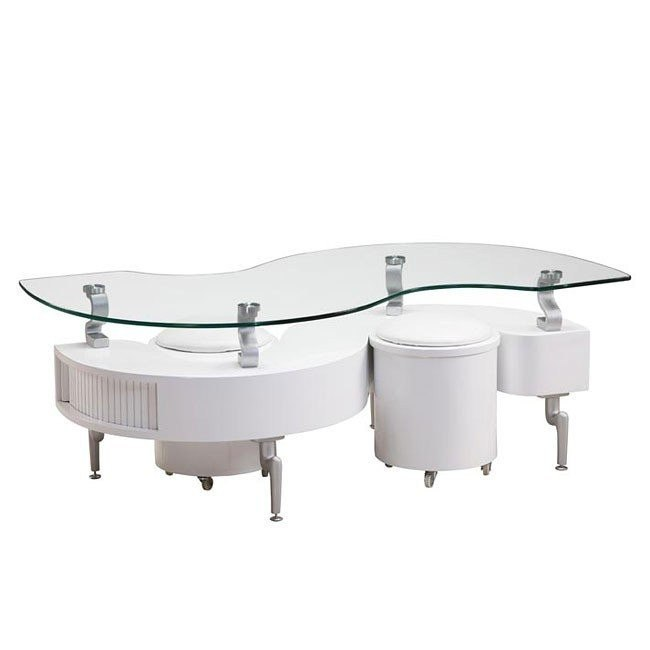 288 White Coffee Table Global Furniture
