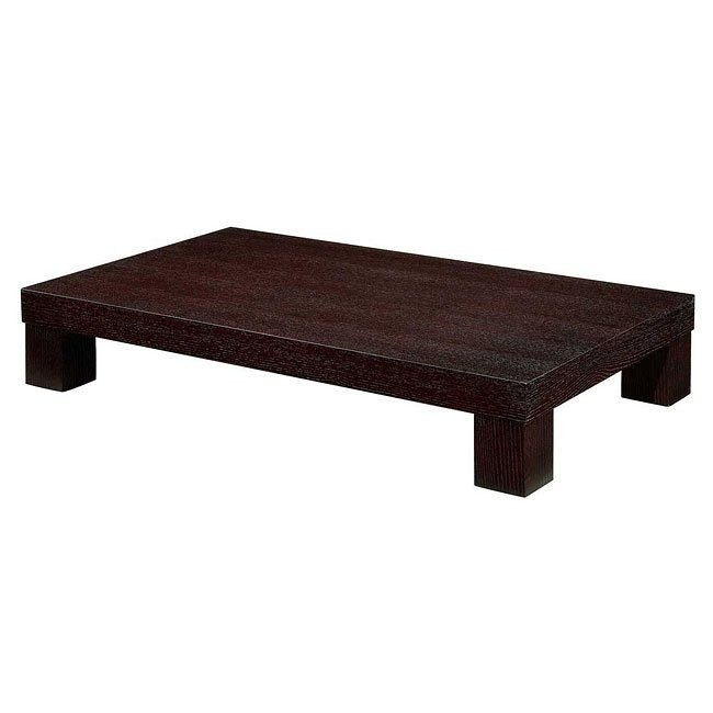 G020 Modern Wood Coffee Table