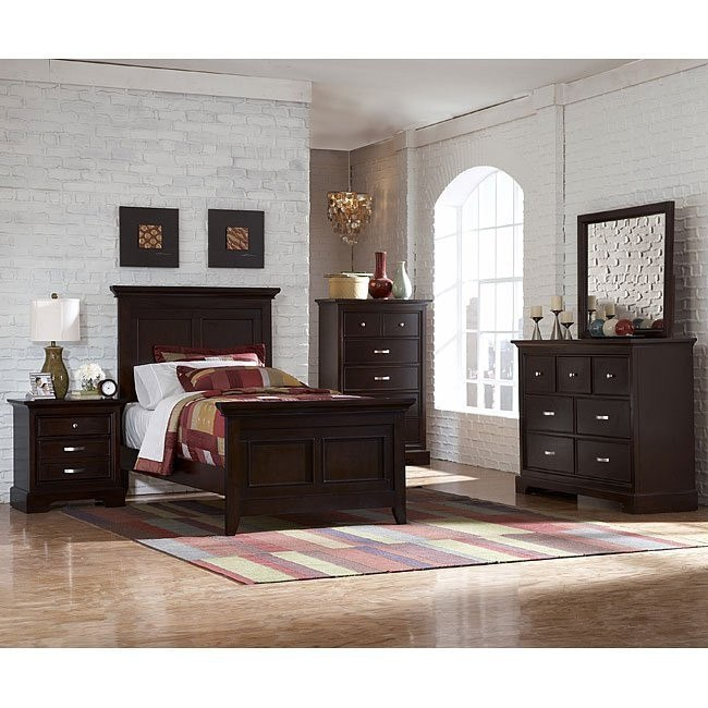Glamour Youth Panel Bedroom Set