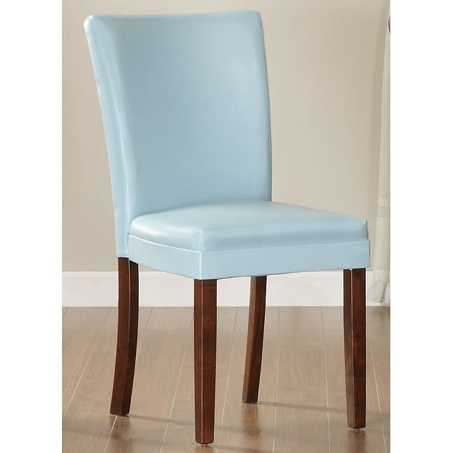 Belvedere Side Chair (Blue) (Set of 2)