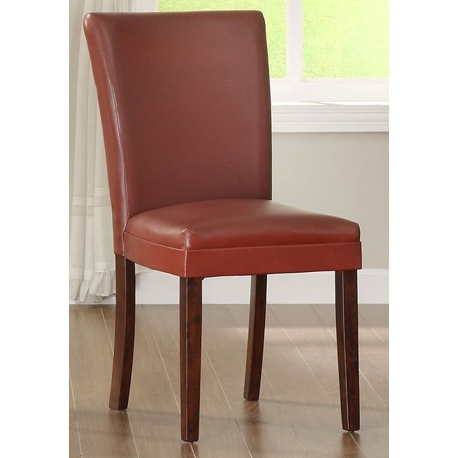Belvedere Side Chair (Red) (Set of 2)