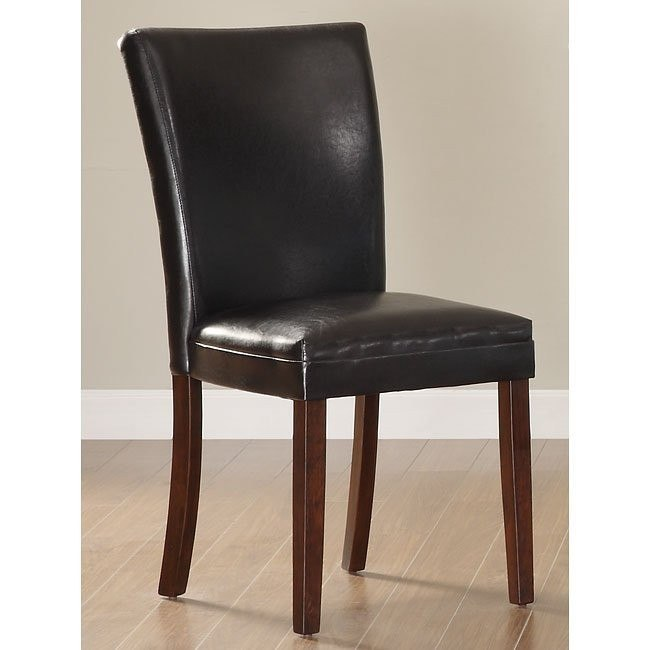 Belvedere Side Chair (Brown) (Set of 2)