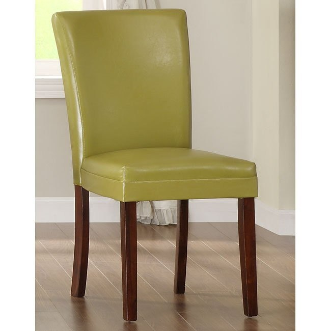 Belvedere Side Chair (Yellow) (Set of 2)