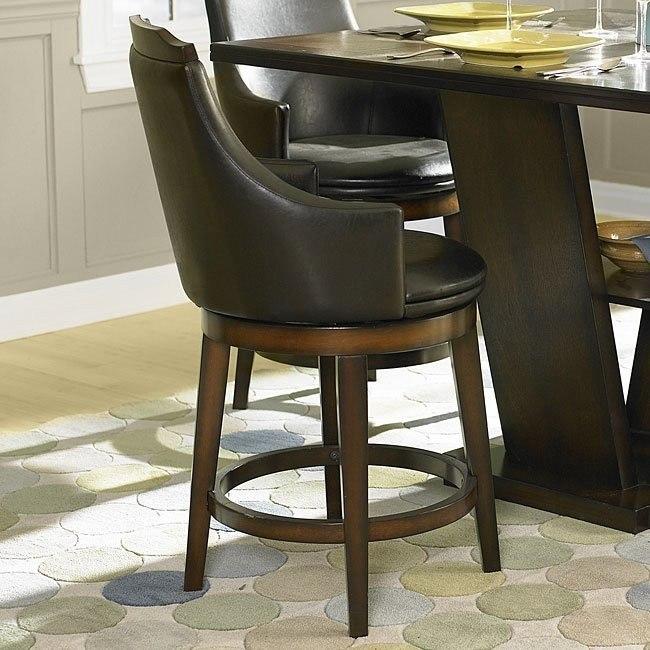 Bayshore Swivel Counter Height Chair