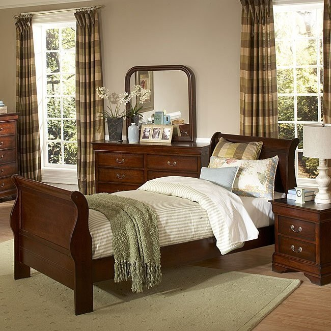Fine Chateau Brown Youth Sleigh Bedroom Set Download Free Architecture Designs Itiscsunscenecom