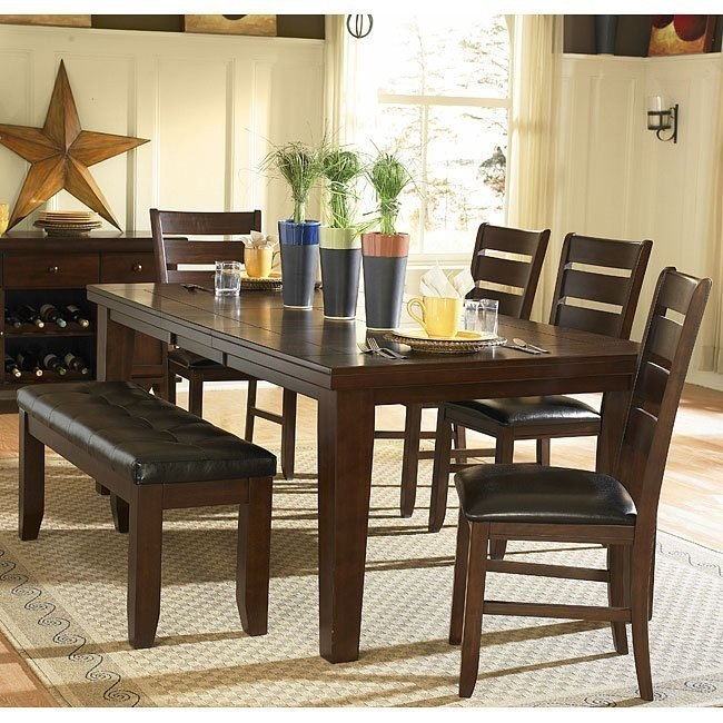 Ameillia Dining Room Set with Butterfly Leaf