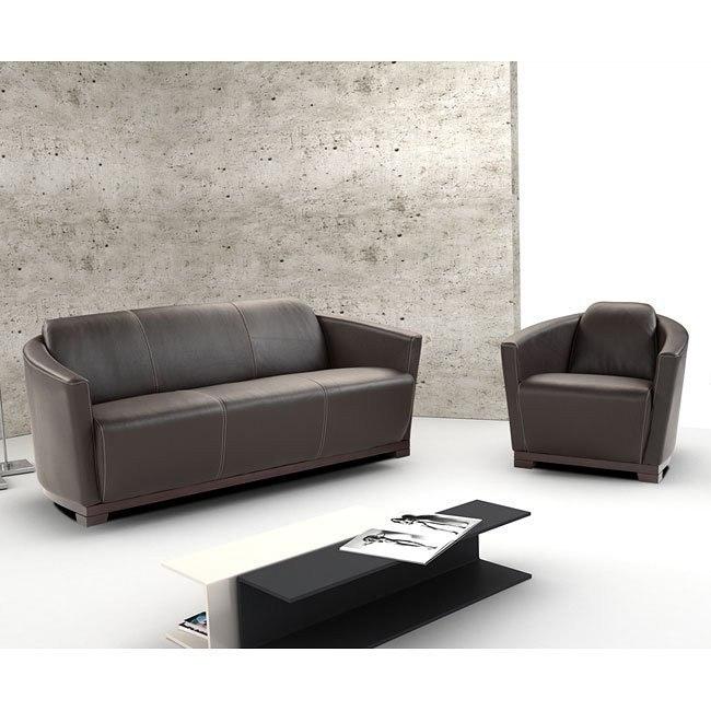 Hotel Italian Leather Living Room Set