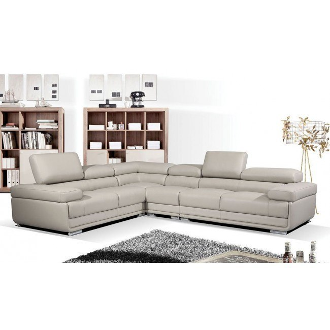 2119 Reversible Leather Sectional