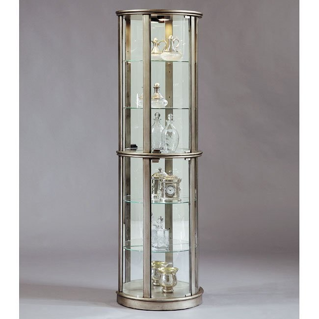 Platinum Small Glass Door Curio