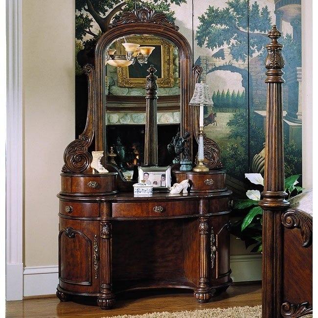 Edwardian Vanity with Mirror