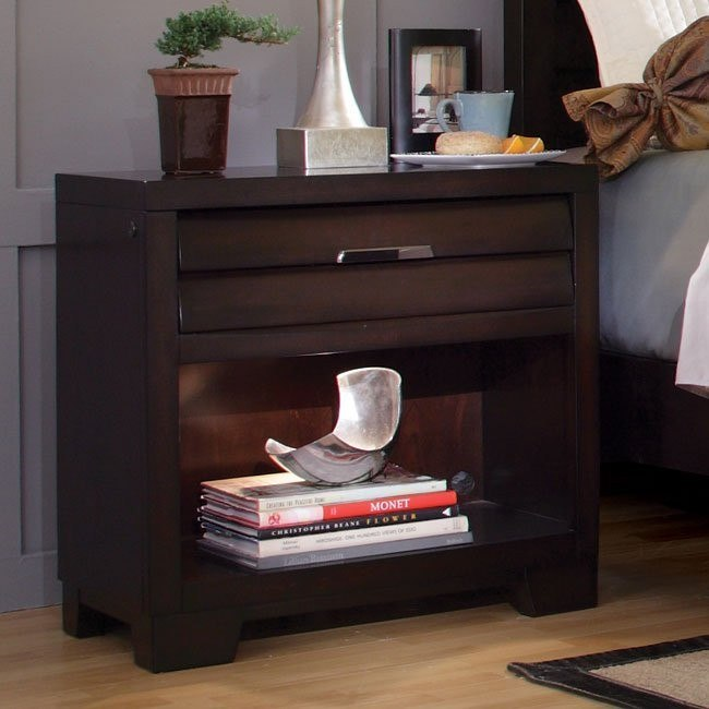 Tangerine 330 Sable Nightstand
