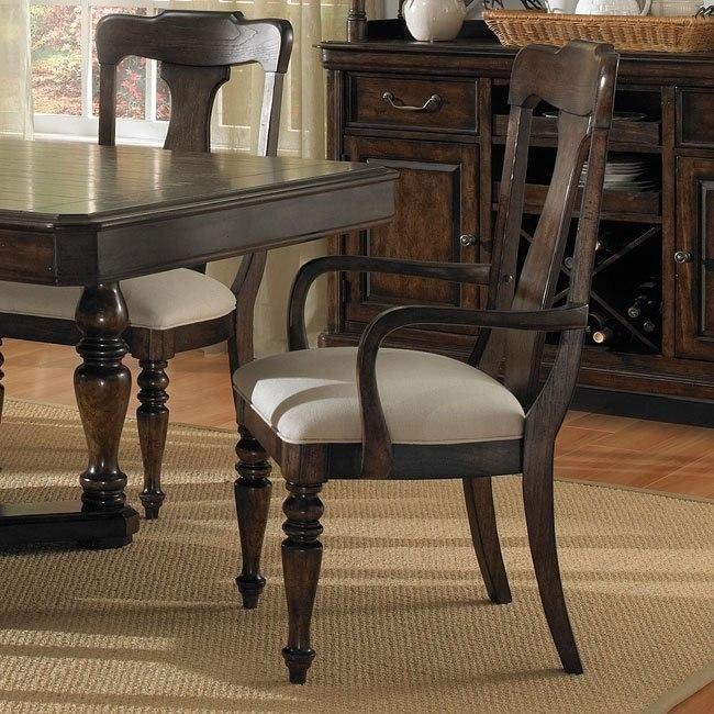Saddle Ridge Arm Chair (Set of 2)
