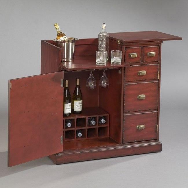Hodley Finish Bar Cabinet
