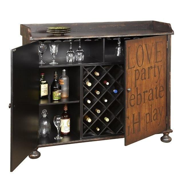 Tanner Wine Cabinet