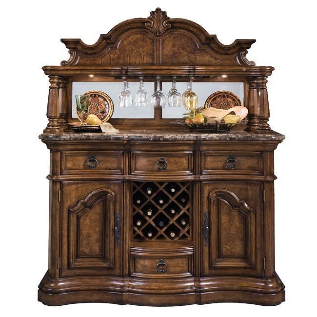 San Mateo Sideboard with Hutch