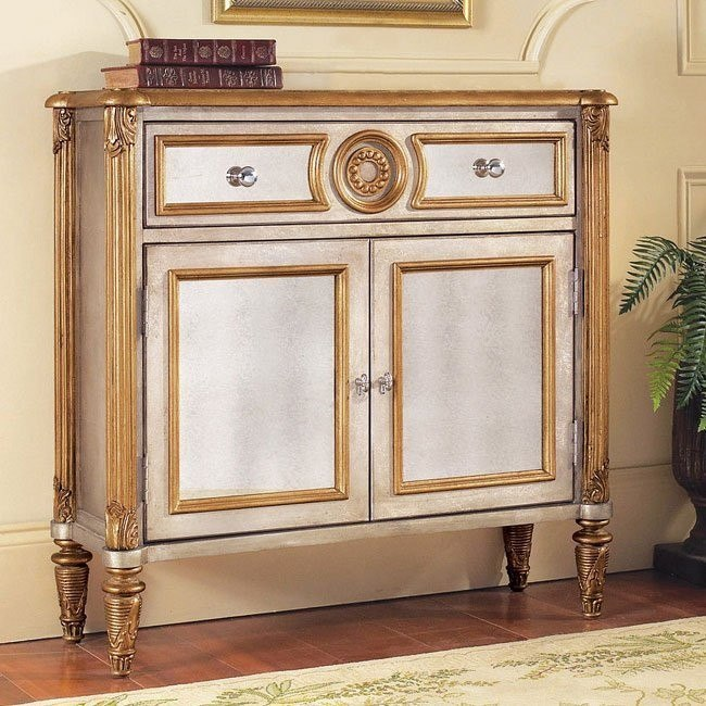 Savoy Mirrored Hall Chest