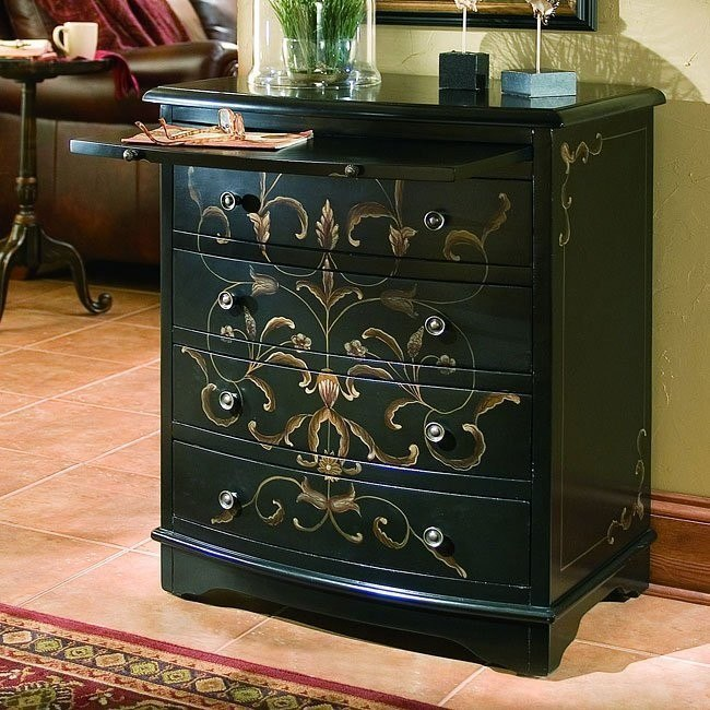 Onyx Finish Accent Chest