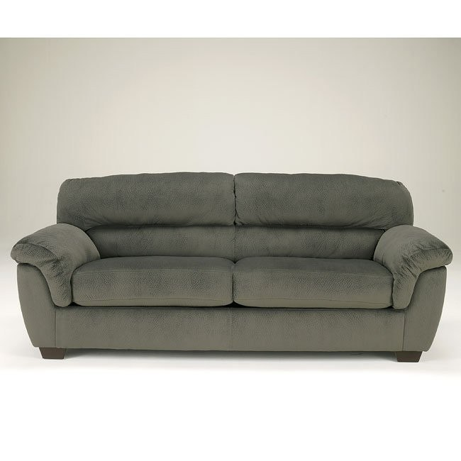 Coral Pike Pewter Sofa