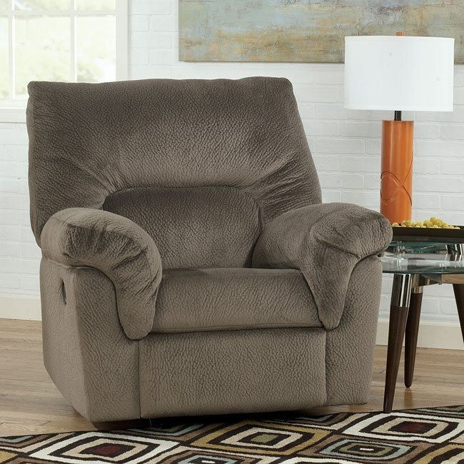Coral Pike Dune Rocker Recliner
