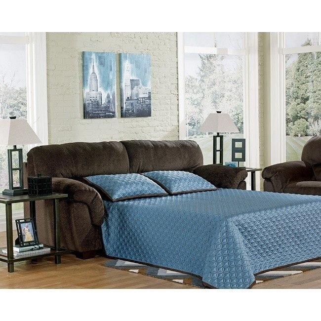 Coral Pike Chocolate Full Sofa Sleeper