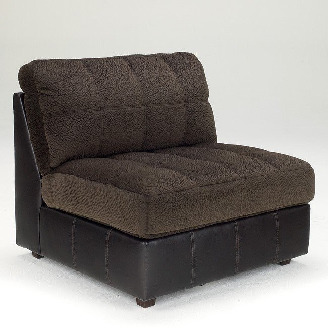 Hobokin Chocolate Armless Chair