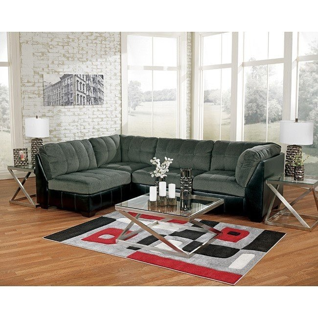 Hobokin Pewter Sectional Set