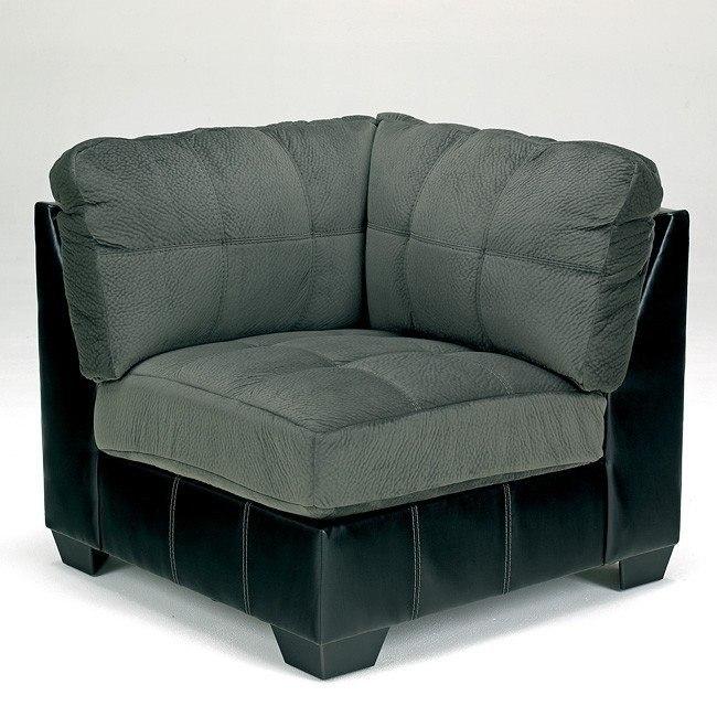 Hobokin Pewter Corner Chair