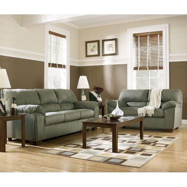 Graham - Sage Living Room Set