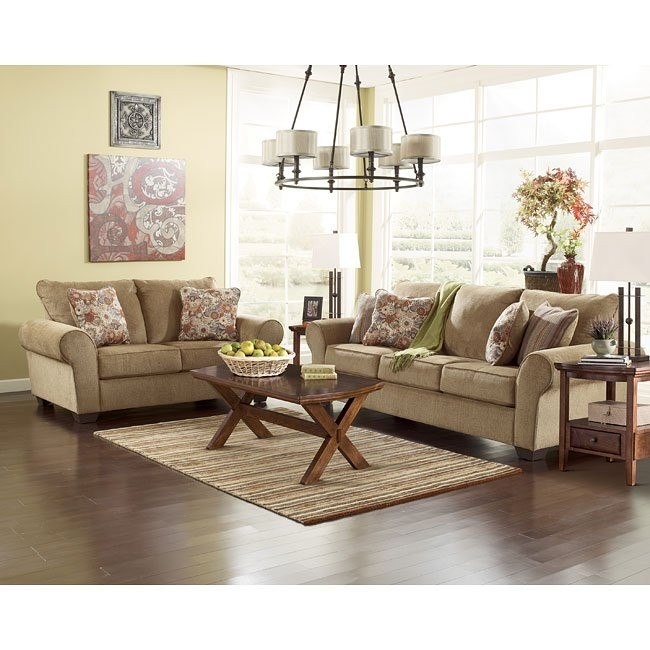 Galand Umber Living Room Set