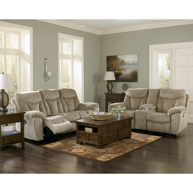 Grimsby Mushroom Living Room Set w/ Power