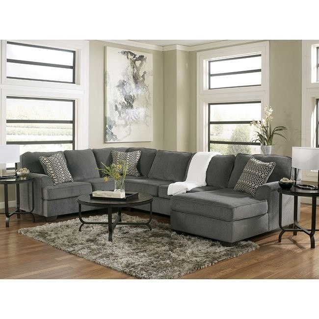 Loric Smoke Sectional Set