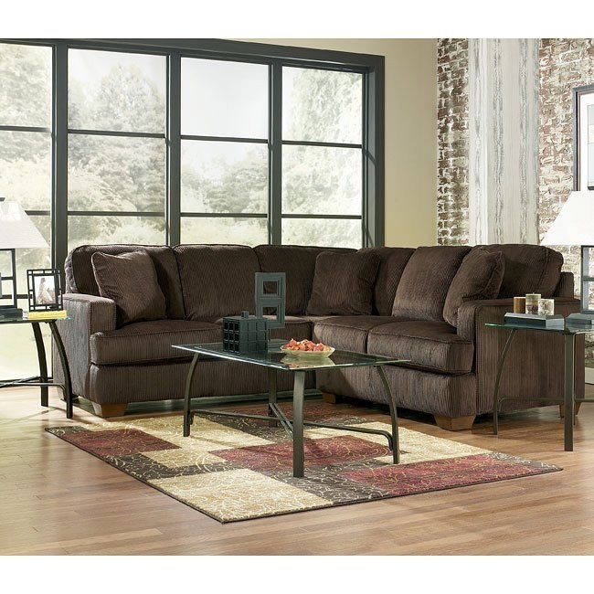 Atmore - Chocolate Right Corner Sectional