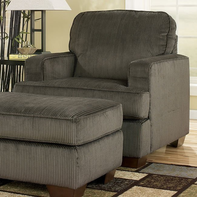 Atmore - Pewter Chair