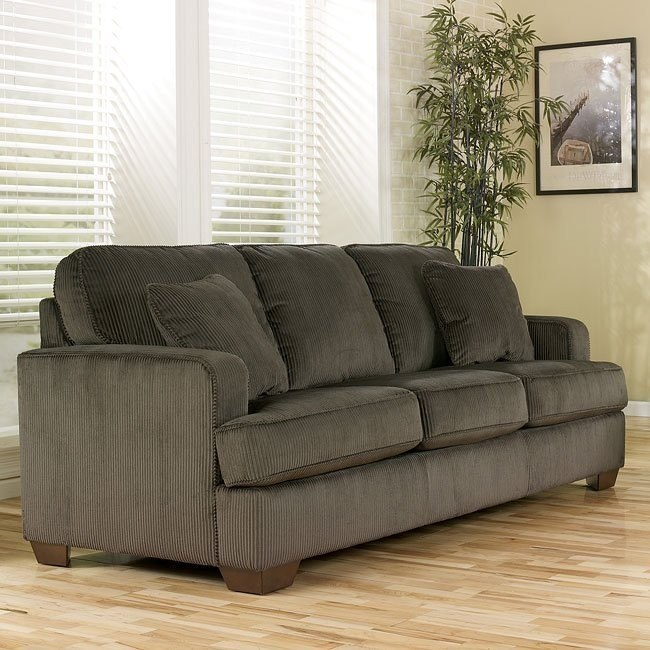 Atmore - Pewter Queen Sofa Sleeper