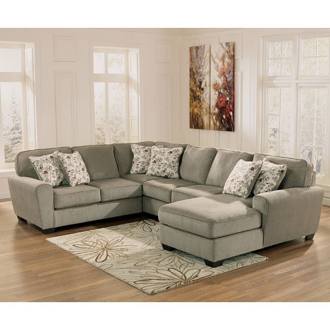 Patola Park Patina Sectional w/ Chaise