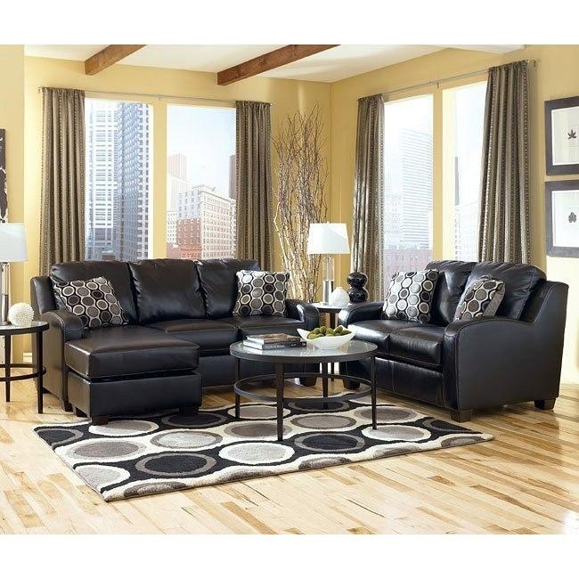 Devin DuraBlend - Black Living Room Set