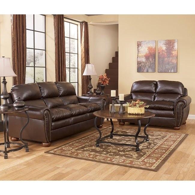 Levar DuraBlend - Sable Living Room Set