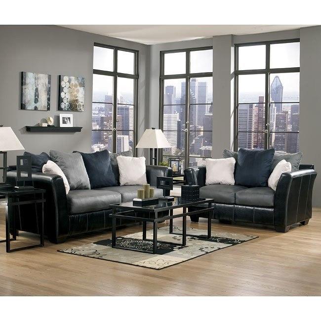 Masoli - Cobblestone Living Room Set