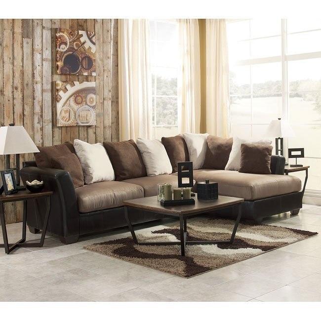 Masoli - Mocha Sectional Living Room Set