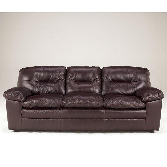 Demetrick - Burgundy Sofa